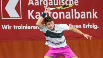 Aargauer Nachwuchs-Tennisspieler im Einsatz