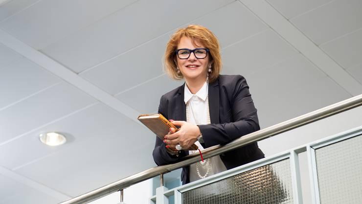 Helene Hartmann berät 13 Aargauer Gemeinden.
