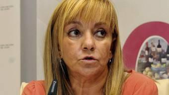 Die auf offener Strasse erschossene Politikerin Isabel Carrasco