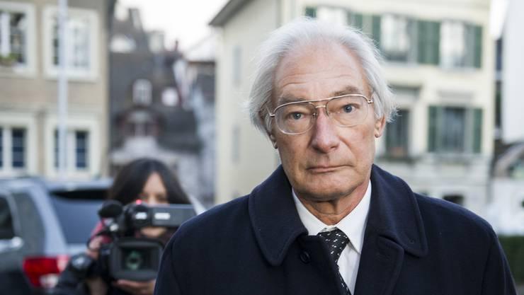 Der Unternehmer Rolf Erb ist tot. (Archiv)