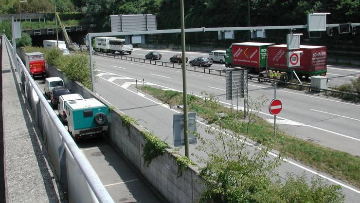 Nadelöhr: Der Gubristtunnel muss dringend ausgebaut werden.