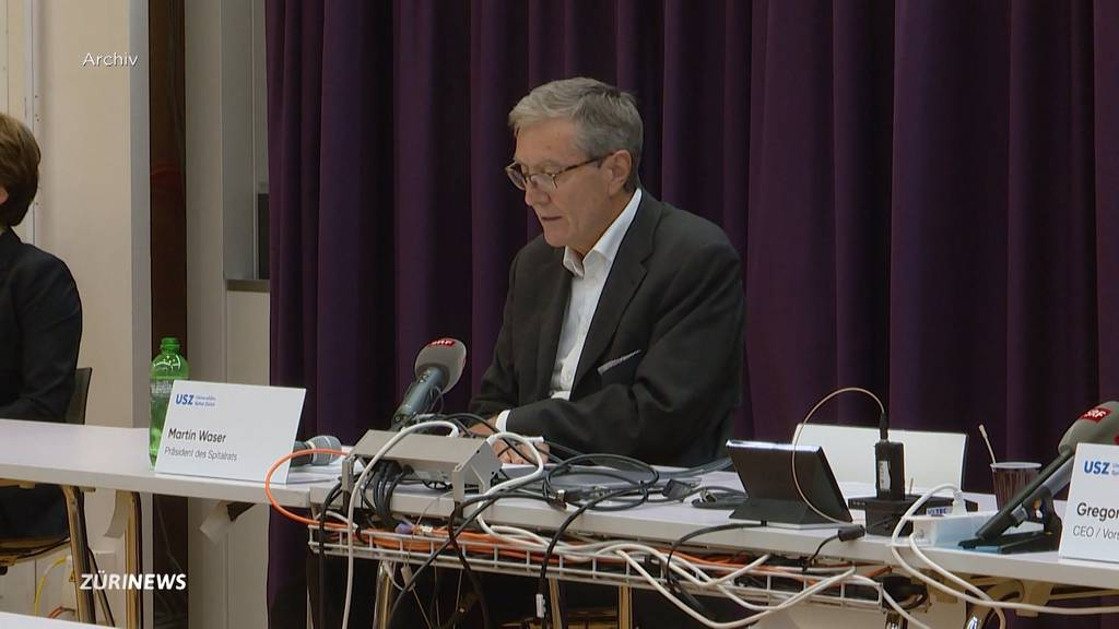 Nach Negativschlagzeilen: Spitalratspräsident Martin Waser tritt zurück