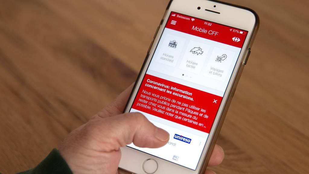 SBB melden IT-Störung – App und Webseite funktionieren nicht