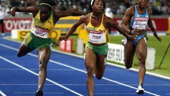 Schnellste Frau der Welt: Shelly-Ann Fraser aus Jamaika