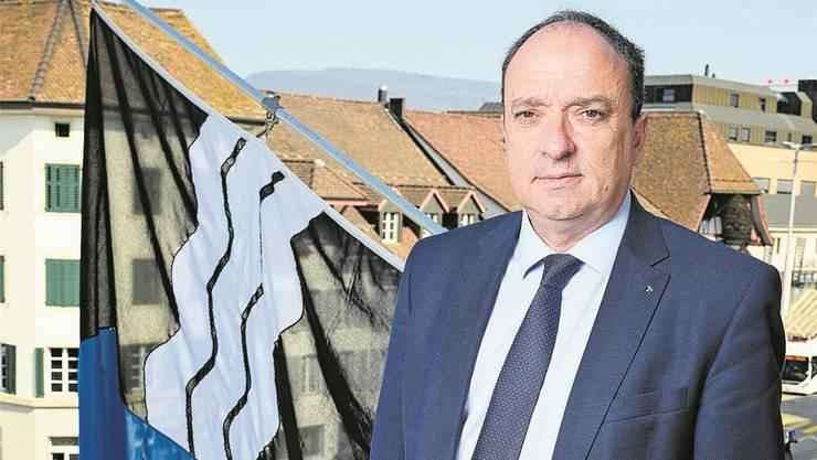 Finanzdirektor Markus Dieth ist von den neuen Zahlen der Eidgenössischen Finanzverwaltung nicht überrascht.