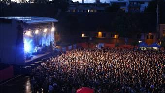 Das Open Air Basel hat 2014 den empfohlenen Bass-Wert trotz Anpassung der Lautstärke überschritten.