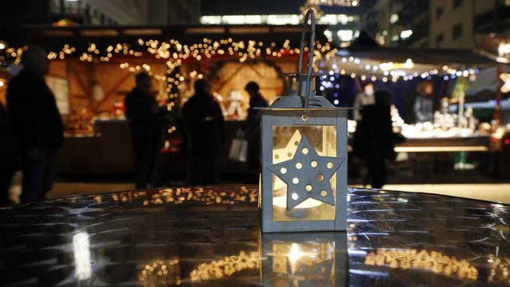 Wird der Weihnachtsmarkt in Grenchen wohl auch dieses Jahr wieder so stimmungsvoll sein?