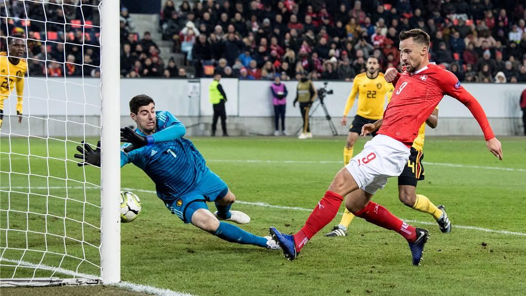 Schweiz gewinnt 5:2 gegen Belgien – alle Tore im Video