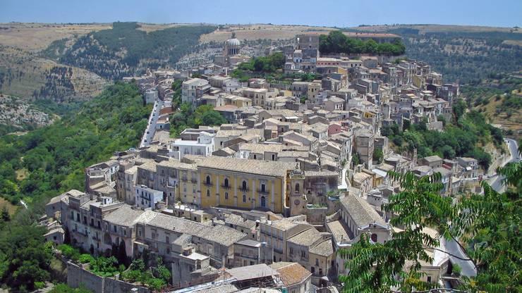 Unesco Weltkulturerbe, die Spätbarockstadt Ragusa, Sizilien, Italien