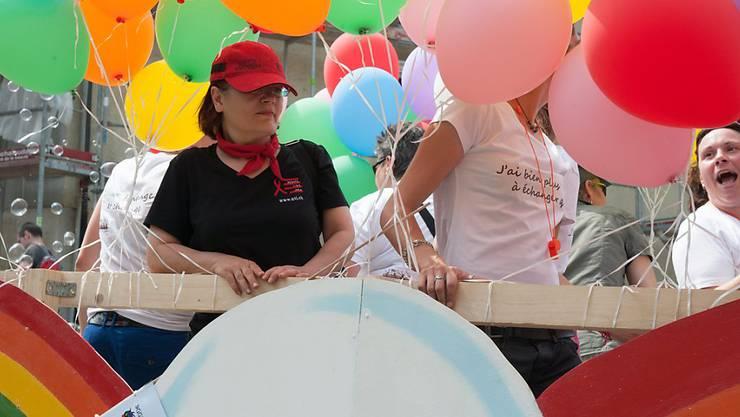 Der neu gegründete Verein will die Anliegen von Schwulen, Lesben, Bisexuellen, Transmenschen und Intersexuellen vermehrt in die Politik tragen (Archivbild).