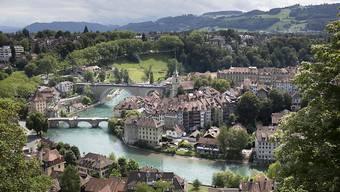 Die Stadt Bern: Weil alle sie regieren wollen, drohte das Rot-Grün-Mitte-Bündnis zu zerbrechen. (Archivbild)