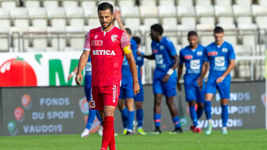 GC und Sion als erste Super-League-Klubs ausgeschieden