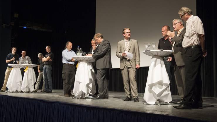 Podiumsdiskussion geleitet von David Kaufmann