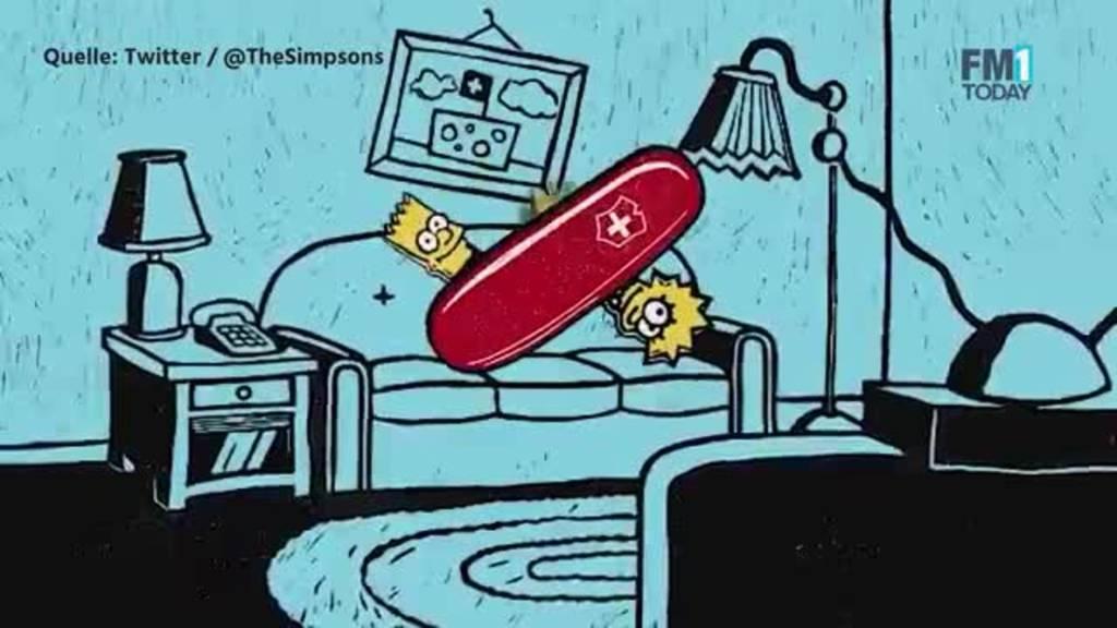 Couch Gag Simpsons zweier Schweizer Grafik-Designerinnen