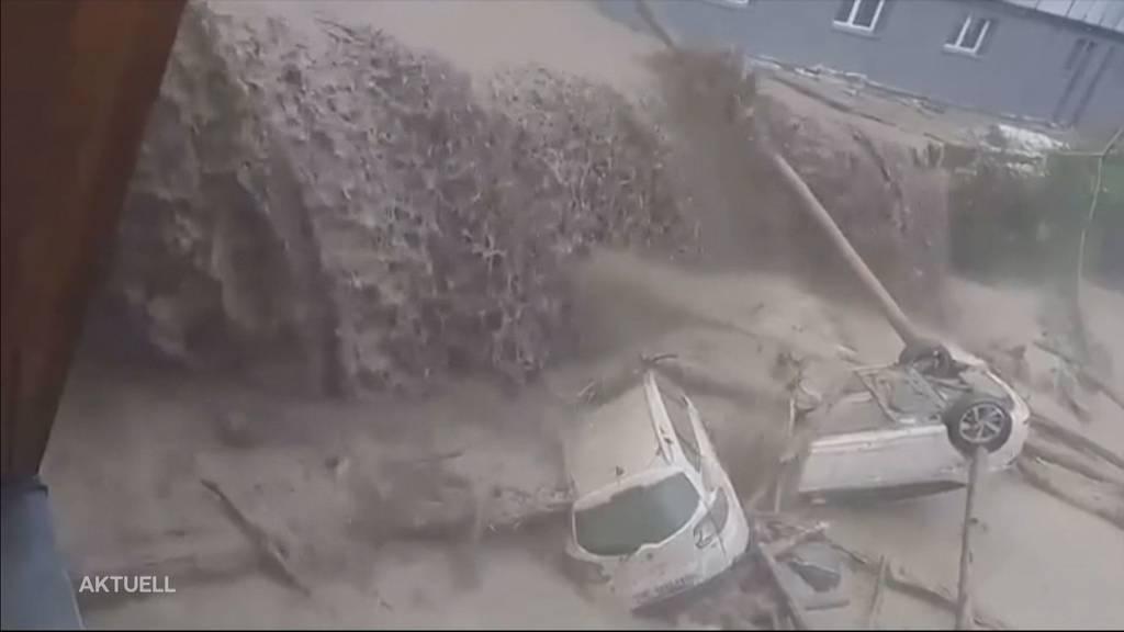 Erneut heftige Unwetter in Zentralschweiz