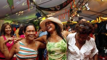 Zeltstimmung: Caliente - das Fest des Südamerikaner.