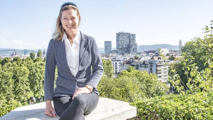 Mit Blick aufs Gundeli: Isabelle Mati wuchs unweit des Margarethenhügels auf.