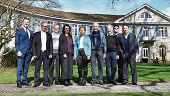Brugg ist ab dem 1.Januar auch ein Thermalkurort Am 4.März 2018 feierten die Behörden von Brugg und Schinznach-Bad das positive Abstimmungsergebnis im P