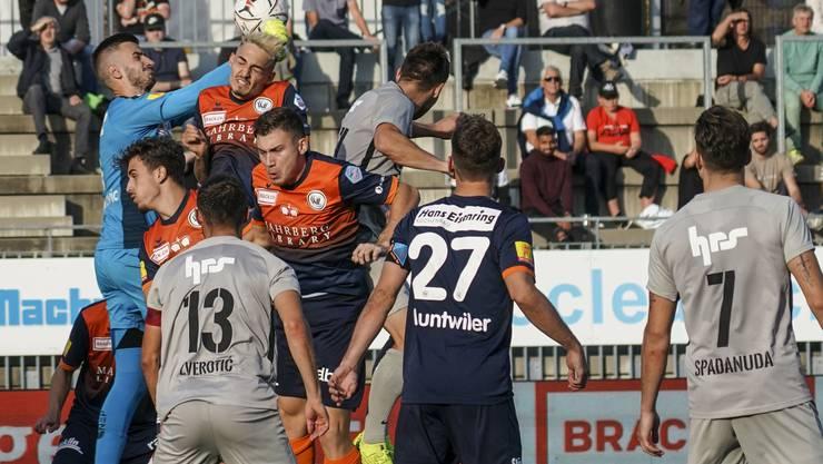 Dem FC Aarau will in Wil zum ersten Mal in dieser Saison kein Tor gelingen.