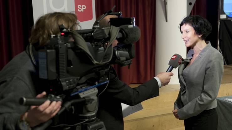 Gefragte Interviewpartnerin nach der Wahl