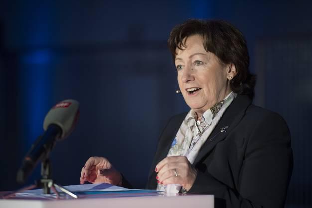 Die Gewerbevertreterin verzichtet auf eine erneute Kandidatur – sie glaubt, dass 2019 eine oder zwei SVP-Frauen in den Nationalrat gewählt werden.