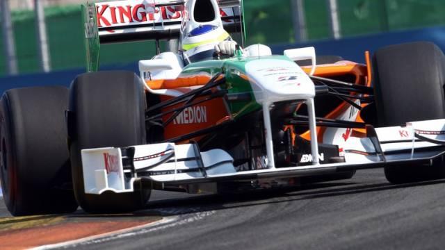 Force-India-Pilot Giancarlo Fisichella schaffte die Sensation