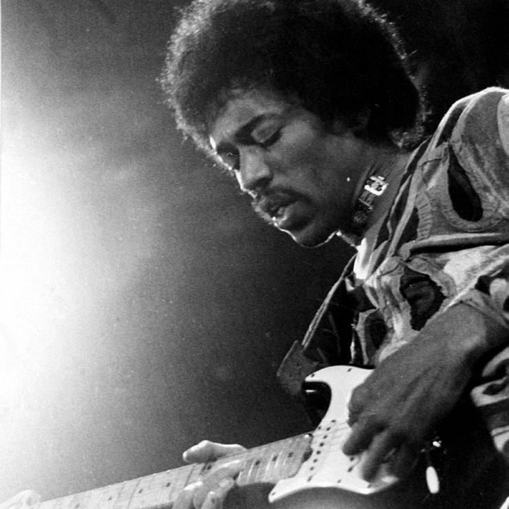 Jimi Hendrix: Gestorben am 18. September 1970. Der Gitarrengott erstickte an seinem eigenen Erbrochenen.