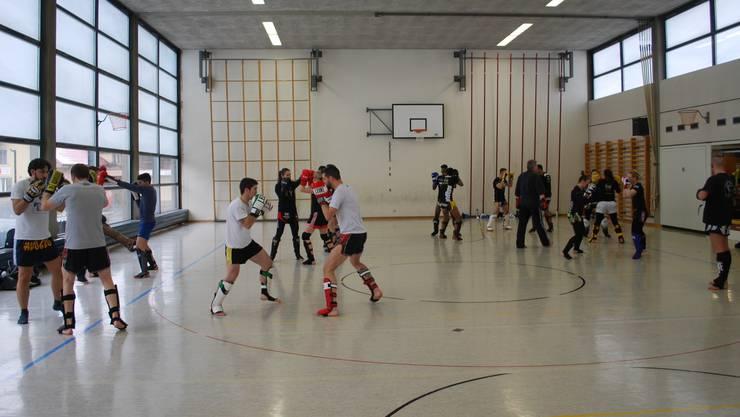 Rund 70 Athleten und Athletinnen nahmen am Punkt-Training in Derendingen teil.