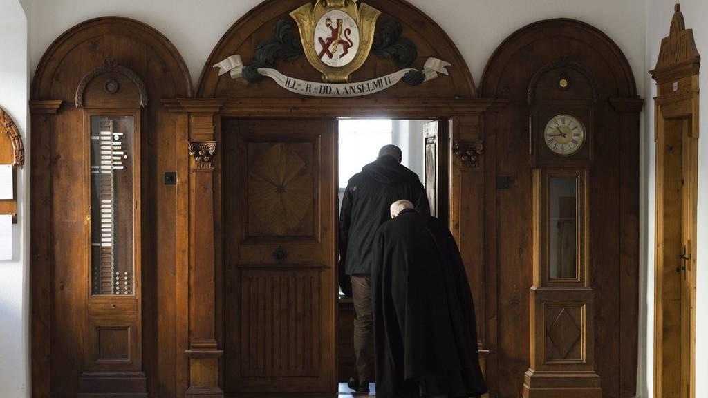 Es gab Treffen von Kardinälen und Bischöfen in St. Gallen, aber sie spielten sich im freundschaftlichen Rahmen ab. (Symbolbild) (KEYSTONE/Gian Ehrenzeller)