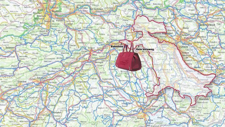 Einige Beispiele von GPS-Kunst.