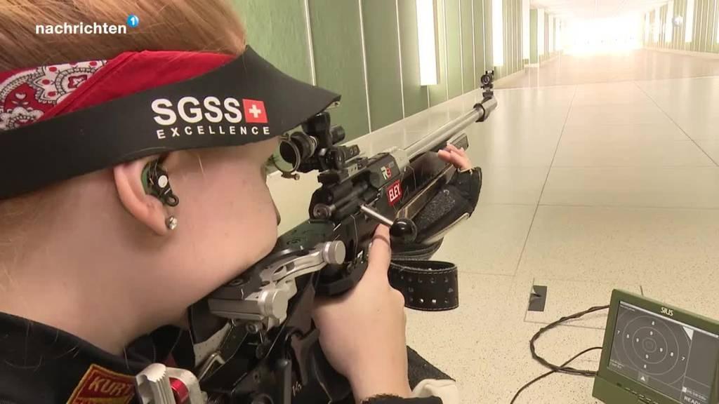 Bereit für Olypmia: Gewehrschützin Nina Christen aus NW