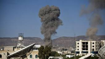 Luftangriff der Koalition auf Sanaa kurz vor Waffenruhe