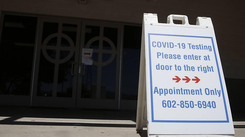 Mehrere US-Staaten verzeichnen Neuinfektions-Höchststand