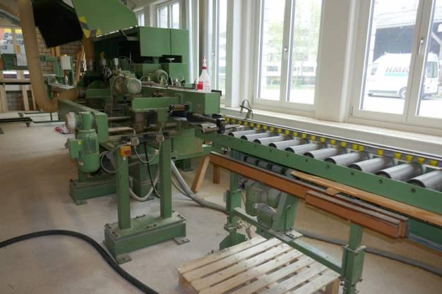 Unter anderem will der Liquidator Jakob Aeschlimann die Produktionsmaschinen verkaufen.