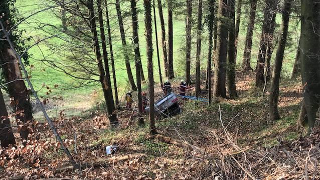 Nebst der Kantonspolizei Zürich waren zwei Feuerwehren, ein Rettungshelikopter sowie zwei Sanitätsfahrzeuge im Einsatz.