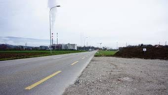 Auf der Südseite der Kantonsstrasse zwischen Luterbach und Zuchwil bleibt der Radstreifen erhalten. Nordseitig entsteht ein separater Fuss- und Veloweg.