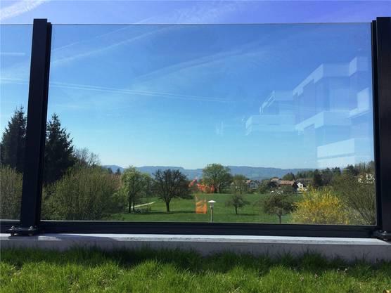 Klare Sicht: die Landschaft kann vom Auto aus betrachtet werden.