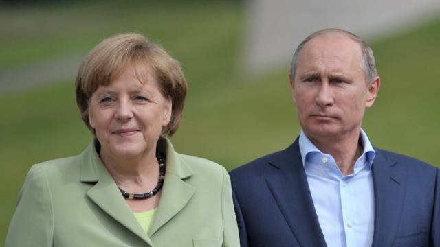 Uneinig in der Syrienfrage: Angela Merkel und Wladimir Putin
