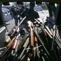 Mehrere US-Städte haben in der Vergangenheit Waffenrückkaufprogramme lanciert. (Archivbild).