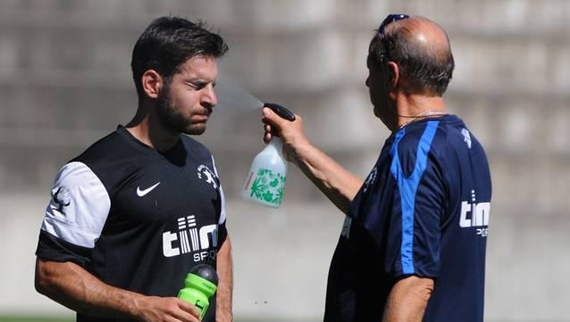 Mit frischem Wind in die Rückrunde: Sowohl für «Black» mit Dario Di Giovine (l.) wie auch für Muttenz und Dornach gilt es wieder ernst. AESCHBACH