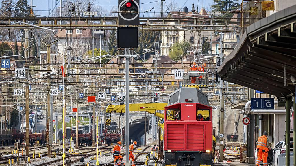 Am Wochenende wurde am Bahnhof Lausanne ein neues Stellwerk in Betrieb genommen.