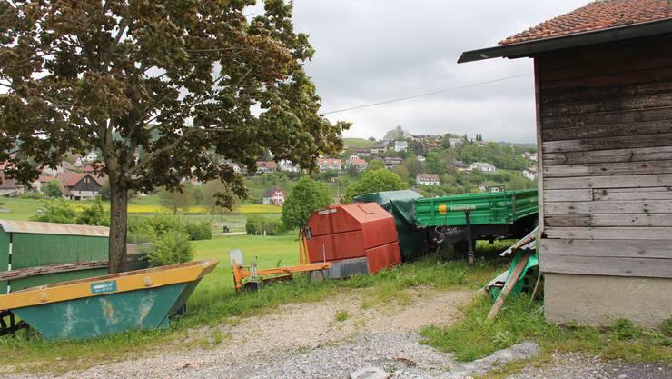 Das Areal des künftigen Werkhofs in Egliswil.