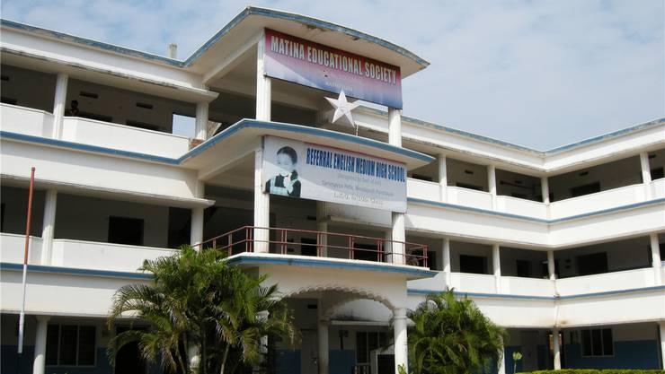 Eine vom Hilfsprojekt RISDT gegründete Schule in Südindien. zvg