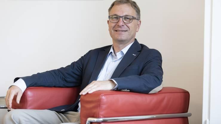 Bestätigt: Michel Müller kann den umstrittenen Reformprozess Kirchgemeinde Plus als Kirchenratspräsident abschliessen.
