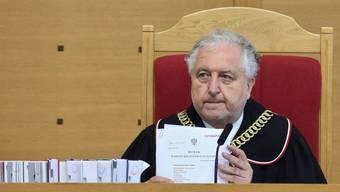 Die polnische Staatsanwaltschaft kündigte Ermittlungen gegen Gerichtspräsident Andrzej Rzeplinski wegen Amtsmissbrauchs an. (Archiv)