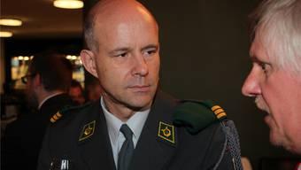 «Ein Fehlverhalten»: Oberst Philipp Wagner über den falschen Einsatz.Archiv Kel