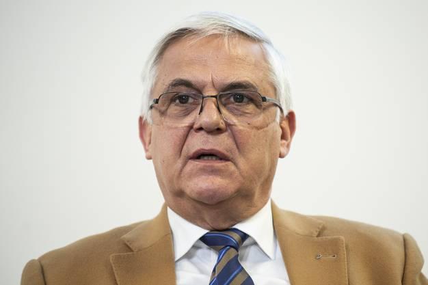 Josef Widler, Präsident der Ärztegesellschaft des Kantons Zürich