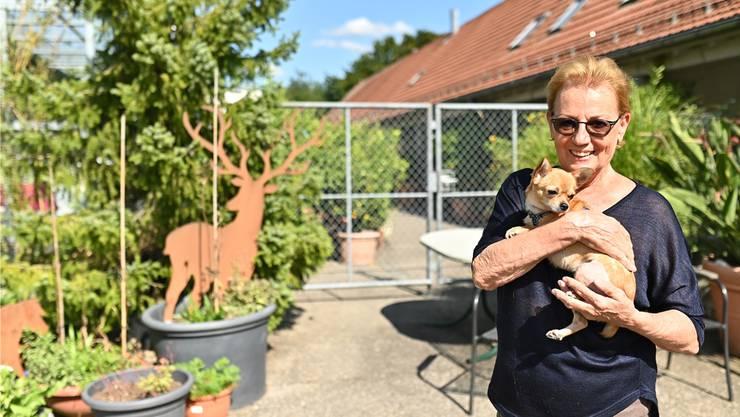 Susanne Klein mit Dancy ist seit einem halben Jahrhundert aktiv für die Tiere unterwegs.