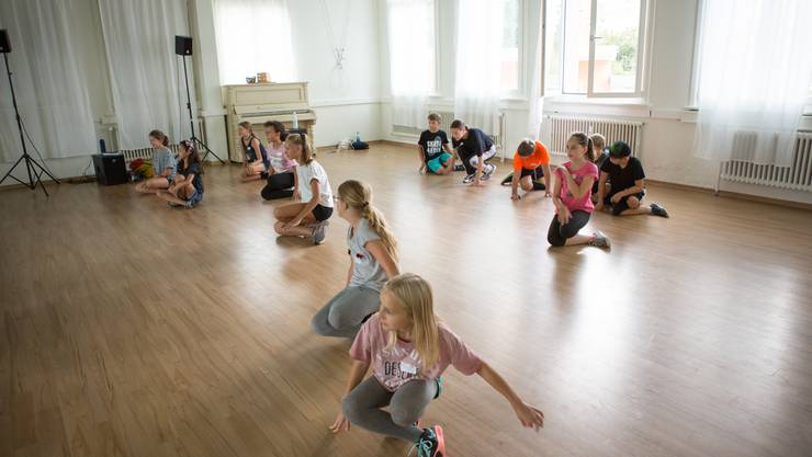 """Auch ein Workshop """"Tanz"""" gehörte dazu."""