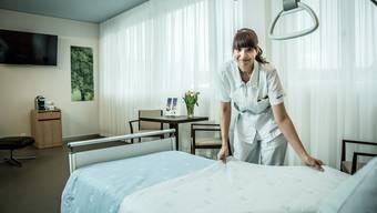 Hirslanden-Klinik in Aarau baut aus